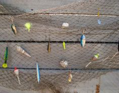 Antiqued Look Fish Netting