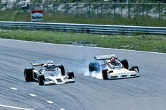 Riccardo Patrese Shadow e Vittorio Brambilla Surtees GP Olanda 1977