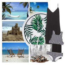 """""""Beach Vacation"""" by cherieaustin ❤ liked on Polyvore featuring Balenciaga, Armitage Avenue, Araks and Gucci"""