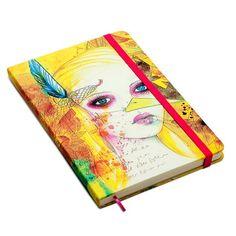 A capa do caderno desenvolvida pela grafiteira Panmela Castro!