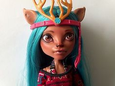 Monster-High-Isi-Dawndancer-OOAK-repaint, she is at home now and part of my collection!