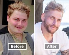 128 Amazing Before & After Pics Reveal How Weight Loss Changes Your Face Weight Loss Plans, Weight Loss Journey, Lose Belly Fat Men, Weight Loss Motivation, Fitness Motivation, Face Transformation, Before After Weight Loss, Face Change, Weight Loss Photos