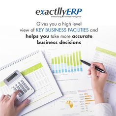 exactllyERP integrates data across the business enterprise, ensures visibility in all the sectors of the business, from daily operations to a strategic decision level. Accounting Software, Business Intelligence, Cloud Based, Business Management
