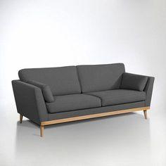 Canapé vintage 3 et 4 places, Tasie La Redoute Interieurs   La Redoute Mobile