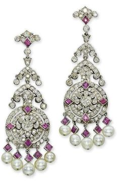 Earrings  Cartier, 1935