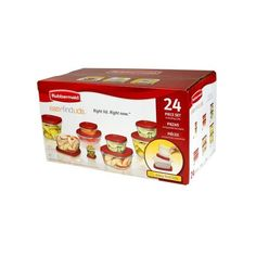 Rubbermaid Easy Find Lids 24 Piece Set | Walmart.ca ($16) ❤ liked on Polyvore featuring home, kitchen & dining and rubbermaid