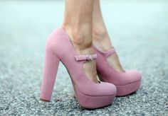 pink and girly.