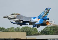 General Dynamics F-16AM Fighting Falcon : Belgian Air Force- Special tail for celebrating 70 years 349 squadron!