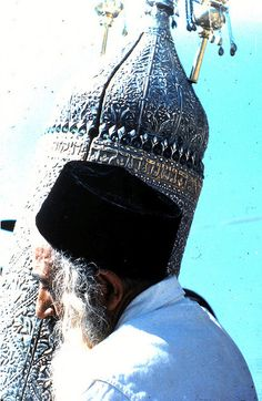 Yemenite Jew carrying Torah