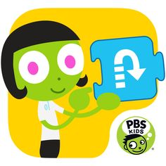 PBS KIDS ScratchJr Mobile App | Kids can create their own interactive stories and games featuring their favorite characters from Wild Kratts, Nature Cat, WordGirl and Peg + Cat! The storytelling possibilities are endless with this creative coding app for children ages 5-8.