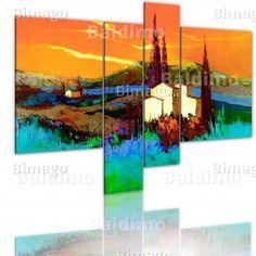 Wandbild: Toskana