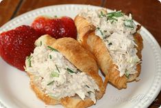 My husband loves this chicken salad, he's always asking me to make it. It's really good and refreshing, check it out. You'll Need: 3/4pound(s)cooked skinless boneless chicken breast(s), cut into bite-sized pieces 1/2cup(s)uncooked celery, finely diced 1/3cup(s)unsweetened dill pickle(s), or sweet gherkins, finely diced 1/4cup(s)light mayonnaise 2 Tbspreduced-fat sour cream 2 Tbspfresh parsley, fresh, chopped 1 tspDijon mustard 1 tspfresh lemon juice 1/2tsptable salt…