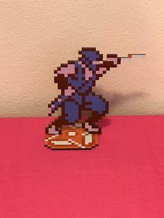 Ninja Gaiden Ryu Hayabusa Sprite - Nintendo Video Game Inspired