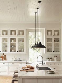 tips for doing a white kitchen