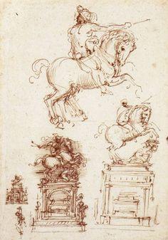 Sketch, Leonardo da Vinci