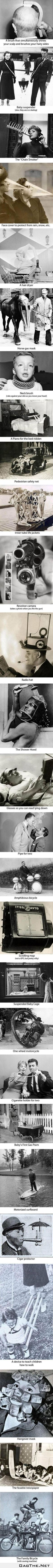 27 crazy inventions from the past