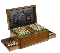 A Leath & Ross homeopathic medicine chest, English, 19th century