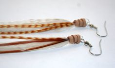 So Soft  Feather Earrings by JazdyneDesigns on Etsy, $22.00
