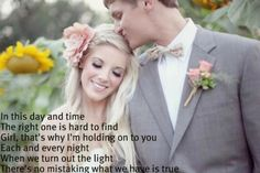 Soulmate- Josh Turner. Love the song...and this picture!