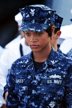 Rihanna in Battleship, 2012