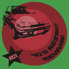 90's Retro Revival Men's Classic Sports Hatch Car T-shirt