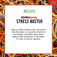 #StayHealthy #StressBuster