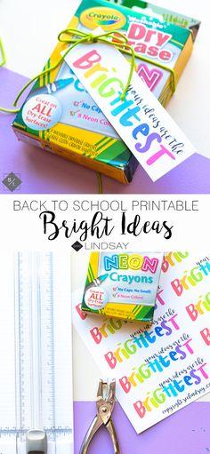 Grab this free back to school printable and teacher gift idea on seeLINDSAY