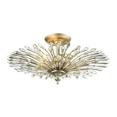 Found it at Joss & Main - Xander Crystal Semi-Flush Mount