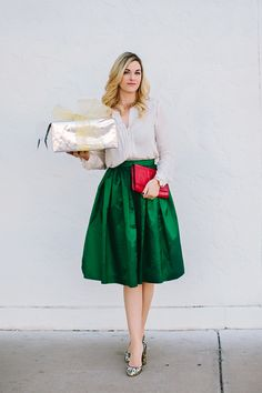 red and mint green outfits - Google Search