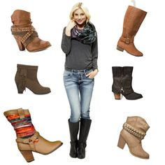 Fall Boots 2013 by masonsmommy-1984, via Polyvore
