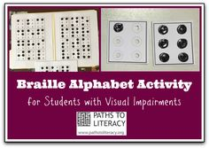This hands-on activity helps beginning readers master the braille alphabet.