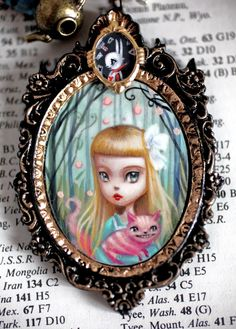 Mab Graves - Alice and the Cheshire Cat original cameo