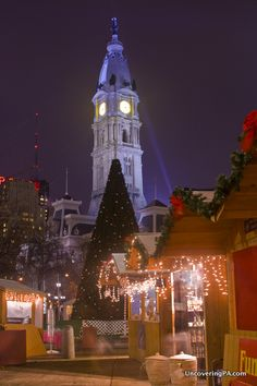 The Christmas Village is one of the top Christmas things to do in Philadelphia, Pennsylvania.