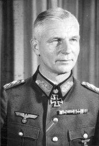 Wehrmacht General Kurt von Tippelskirch - Army group Vistula 21'st Army,14'th Army -