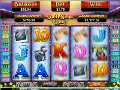 300% Matching Cash Bonus & Play The Loch Ness Loot Slot Games For Free
