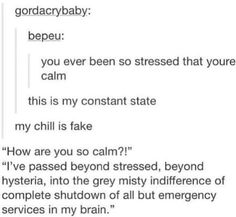 Me during finals week: it literally can't get worse than this even if an apocalypse was to occur