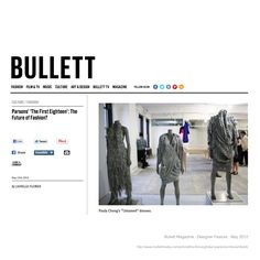 Paula Cheng featured on Bullett Magazine  https://www.facebook.com/PaulaChengDesign