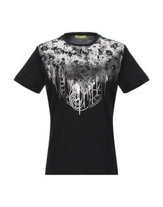 Versace T-shirt Man Versace Jeans T Shirt, Short Sleeves, Mens Tops, Shopping, Clothes, Black, Style, Products, Fashion