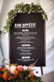 Italian Wedding #wedding #weddingtheme #weddingmenu