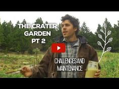 Crater Garden Pt. 2 (Challenges and Maintenance) - YouTube