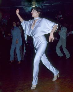 NOVEMBER 21, 1977: New York City – Liza Minnelli dancing at Lorna Luft's 25th birthday celebration at New York, New York Disco.