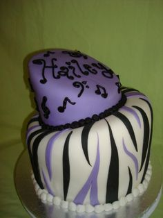 purple cake — Purple