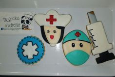 Orden entregada hoy! ❤😍😀🍪💉💊 #nurseweek #nursecookies #hospitalcookies #cookies #mycookiecreations