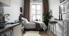 One of the tiniest studio apartment I've seen | Daily Dream Decor | Bloglovin'