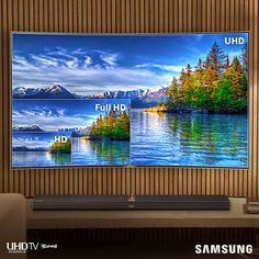 Samsung Ultra HD TV 4K Television - now this is what I am talking about.  This is a visual experience like I have not seen before.  Hats off to Samsung, you have set the benchmark for others to beat!