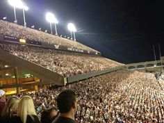 Another view of the largest Midnight Yell (Sept. 14, 2013) in Aggie history.