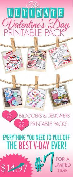 Valentine's Day Printable Pack