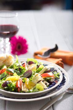 Juustosalaatti | K-ruoka #sitrushedelmät