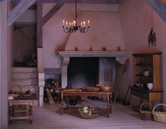 Dollhouse Miniatures : Château Margaux Kitchen  Share, Repin, Comment - Thanks!