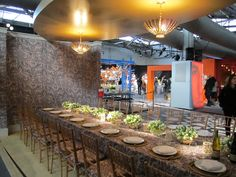 2013 DIFFA DINING BY DESIGN INSPIRES AND DELIGHTS @stylebeat. Aerin & Lee Jofa